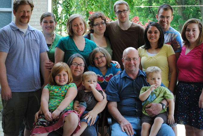 The Kohrman Family - Summer 2012